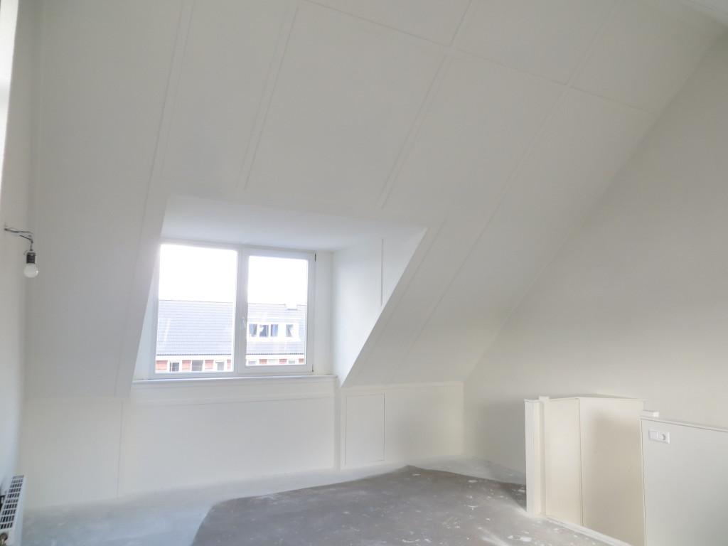 Een ingrijpende verbetering van een nieuwbouw zolder stukadoorsbedrijf kees van dijk - Zolder ontwikkeling ...